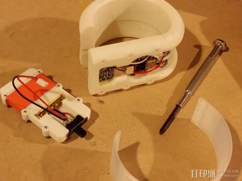 DAZZLER发光手镯 3D模型  图7