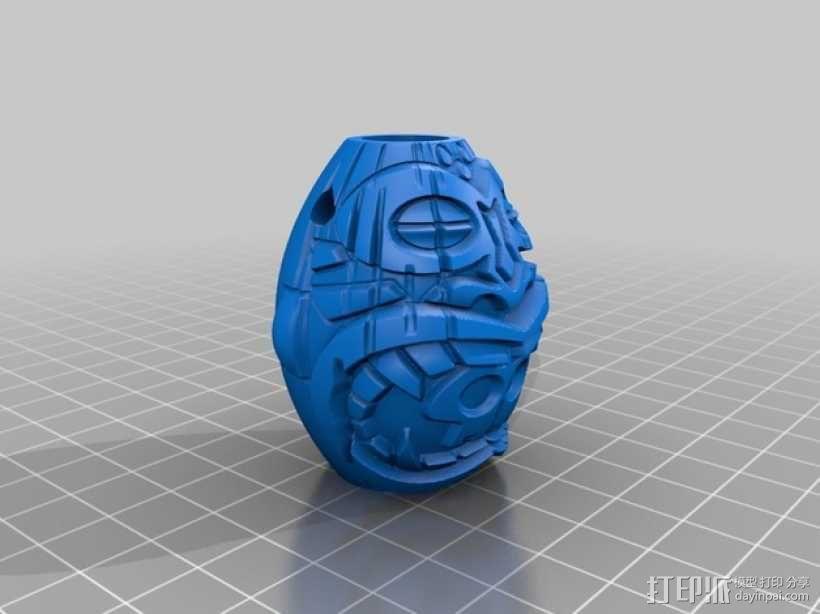 提基头吊坠 3D模型  图6