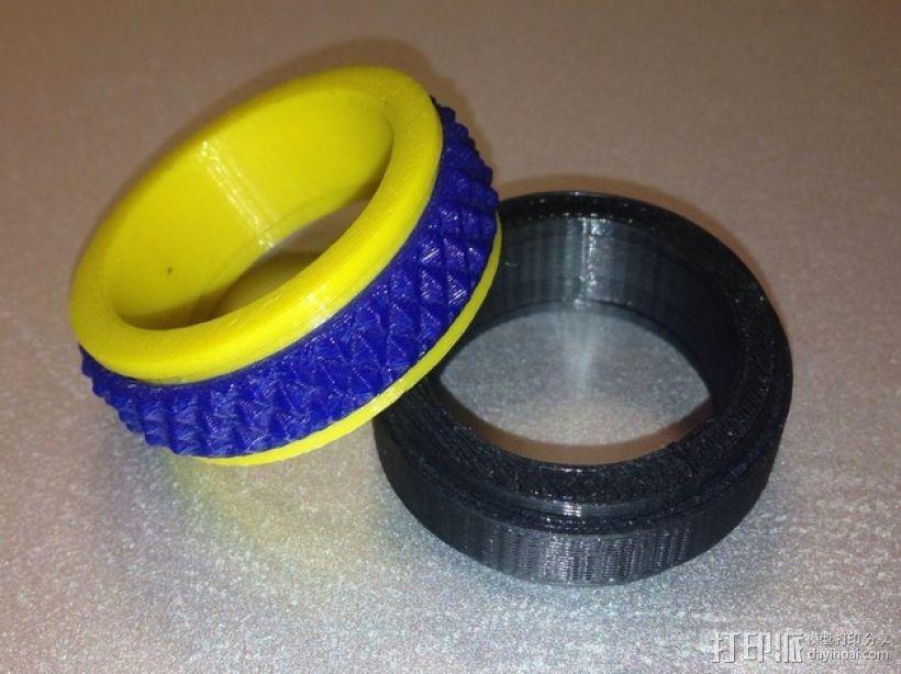定制化戒指 3D模型  图1
