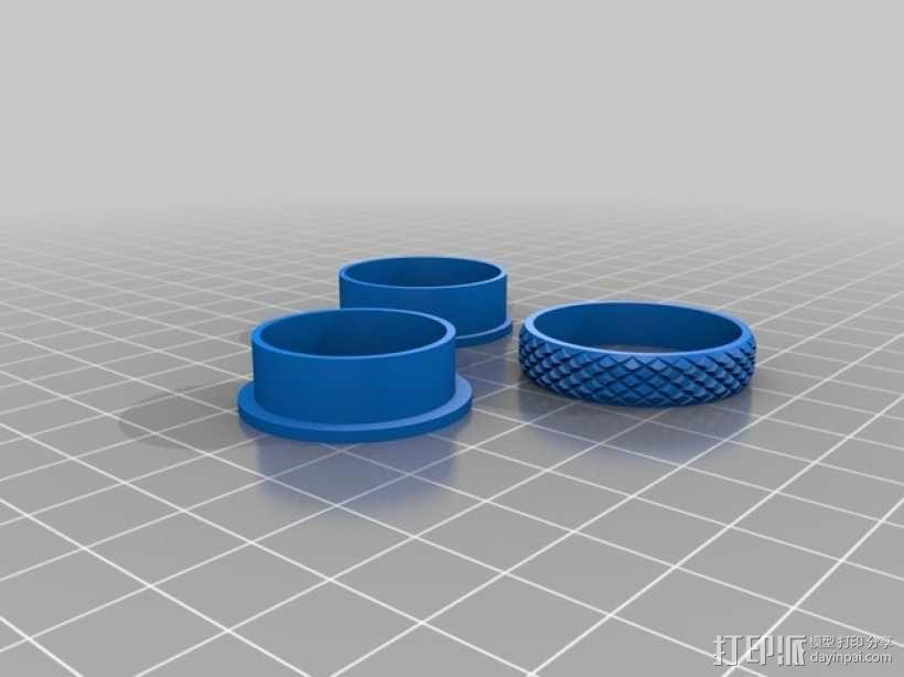 定制化戒指 3D模型  图6