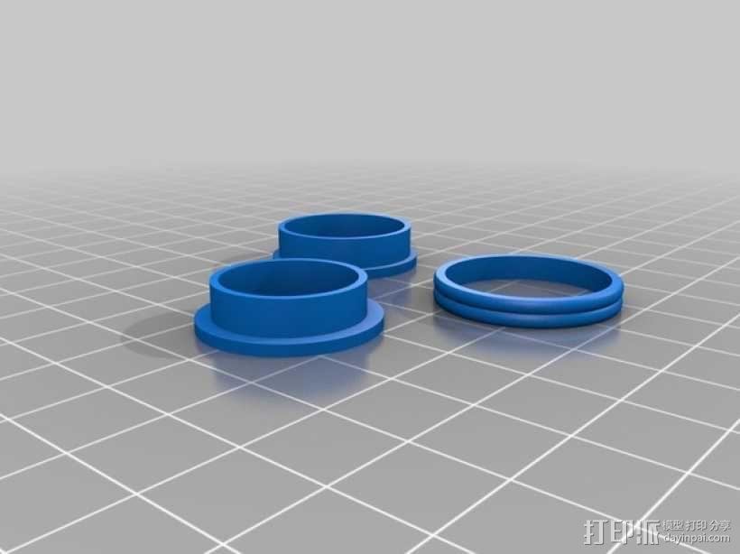 定制化戒指 3D模型  图7