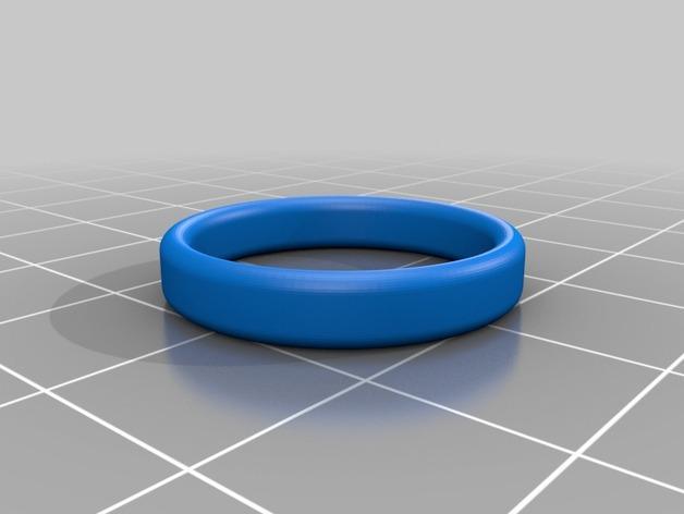会发光的骷髅戒指 3D模型  图4