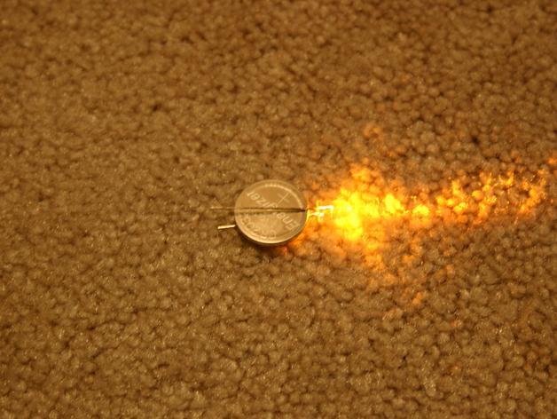 会发光的骷髅戒指 3D模型  图8