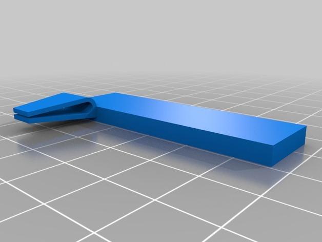 定制化书夹/书签 3D模型  图2