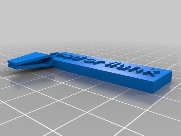 定制化书夹/书签 3D模型  图5