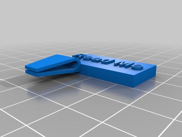 定制化书夹/书签 3D模型  图4