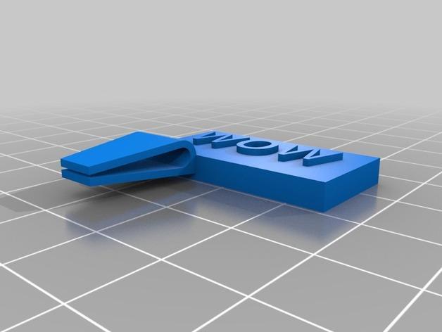 定制化书夹/书签 3D模型  图6