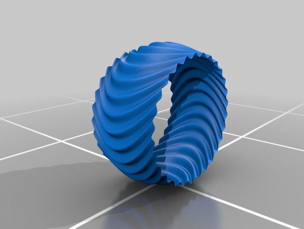个性化手镯 3D模型  图2