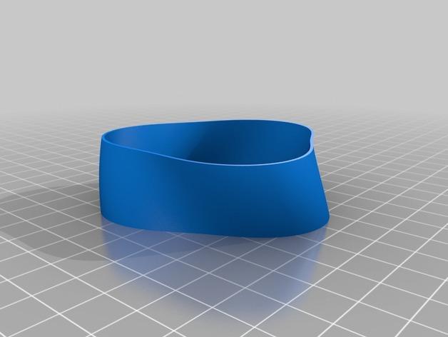 定制化TRI手环 3D模型  图4