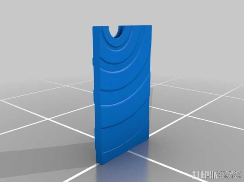 名片夹 3D模型  图2
