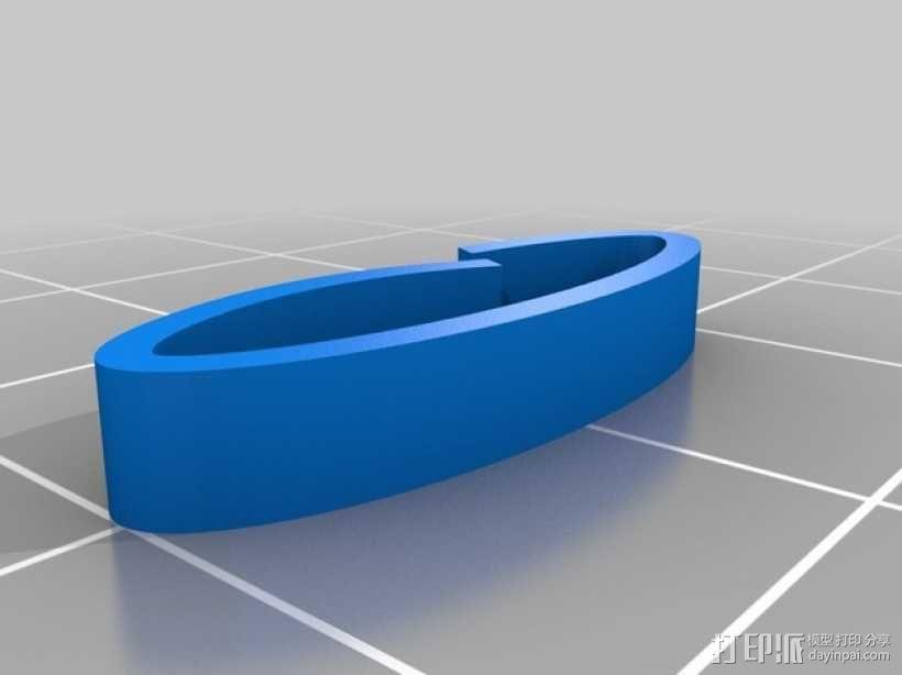 简单精美项链 3D模型  图3