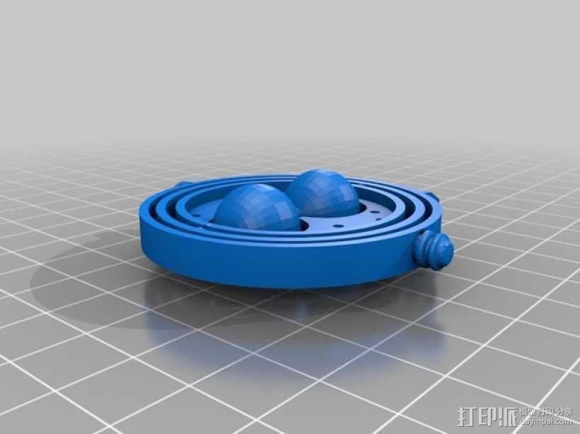 《哈利波特》:时间转换器 3D模型  图3
