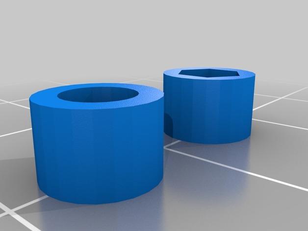 朋克风六边形护目镜 3D模型  图3