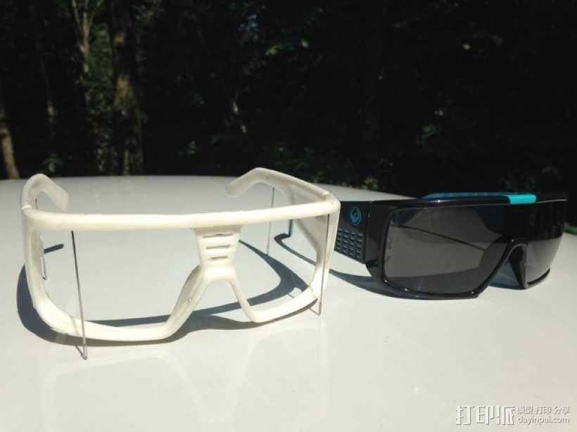 Dragon DOMO太阳眼镜/墨镜 3D模型  图2