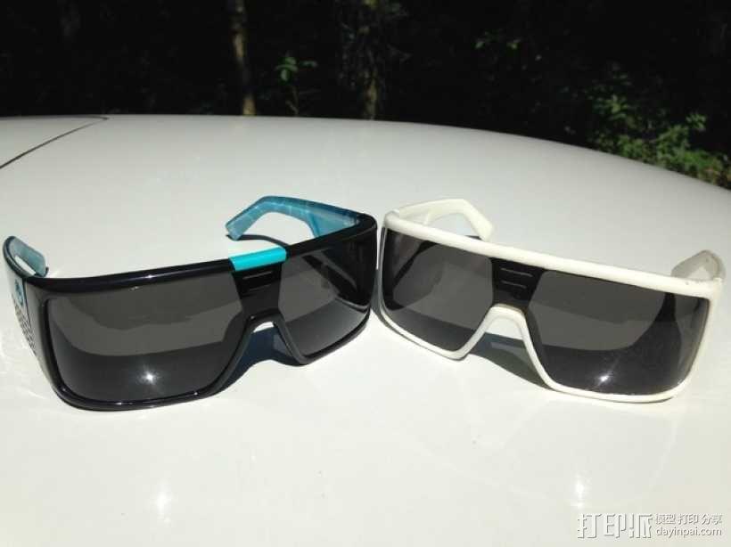 Dragon DOMO太阳眼镜/墨镜 3D模型  图4
