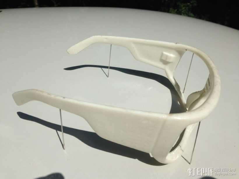 Dragon DOMO太阳眼镜/墨镜 3D模型  图6