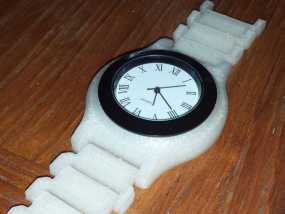 手表 3D模型