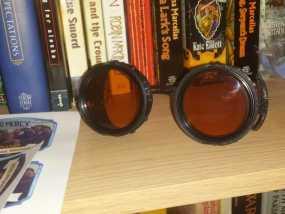 朋克风齿轮护目镜 3D模型