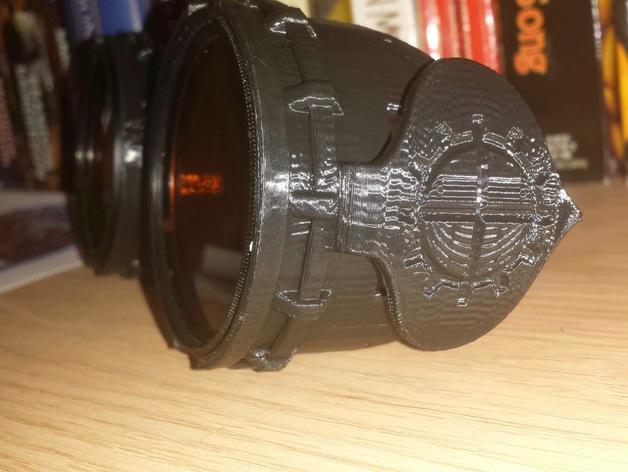 朋克风齿轮护目镜 3D模型  图3