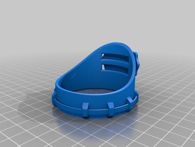 朋克风齿轮护目镜 3D模型  图6