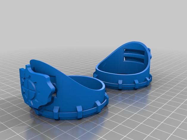 朋克风齿轮护目镜 3D模型  图8