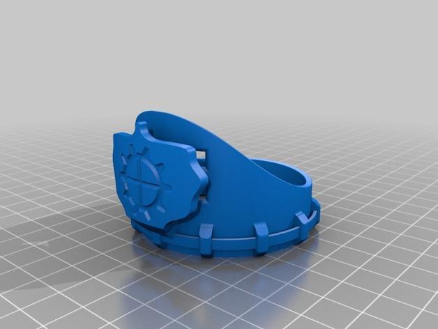 朋克风齿轮护目镜 3D模型  图7
