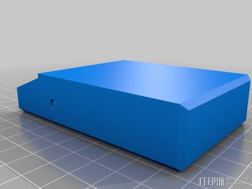 简洁方形钱包 3D模型  图5