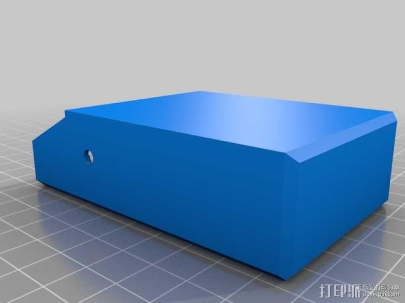简洁方形钱包 3D模型  图4
