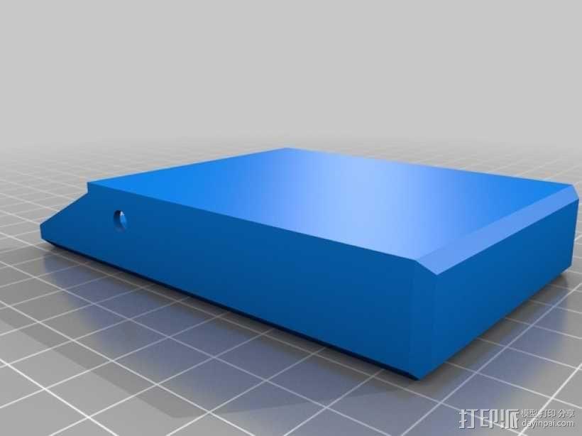 简洁方形钱包 3D模型  图7