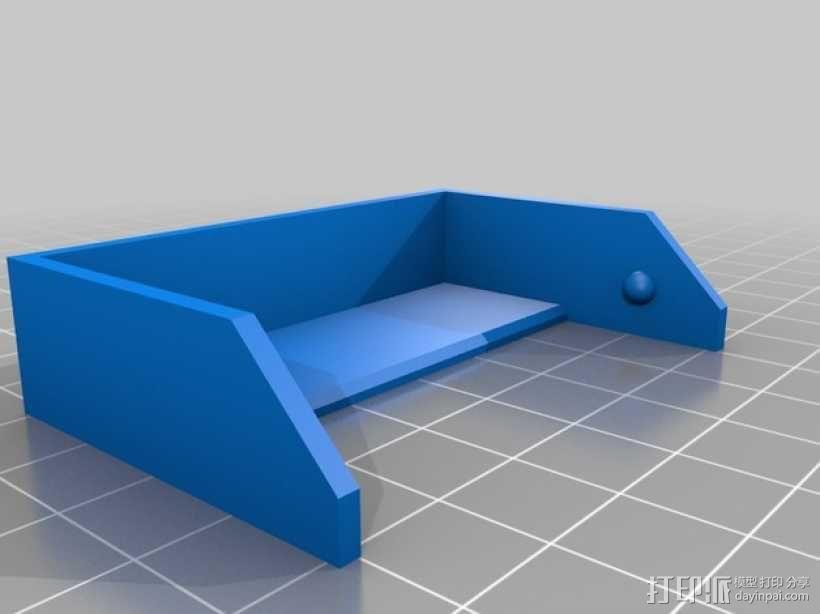 简洁方形钱包 3D模型  图6
