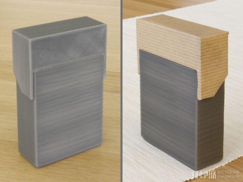 简洁方形钱包 3D模型  图9
