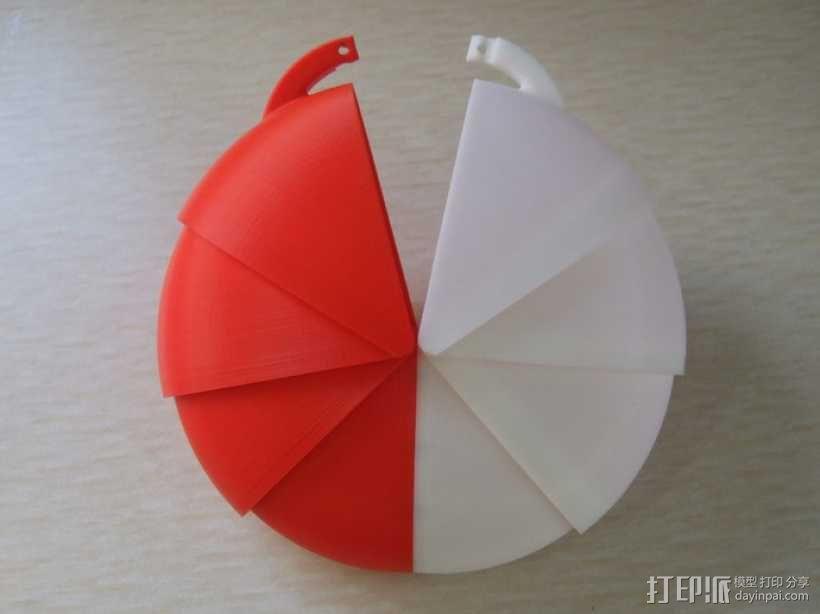 钱包/手提包/背包装饰品 3D模型  图1