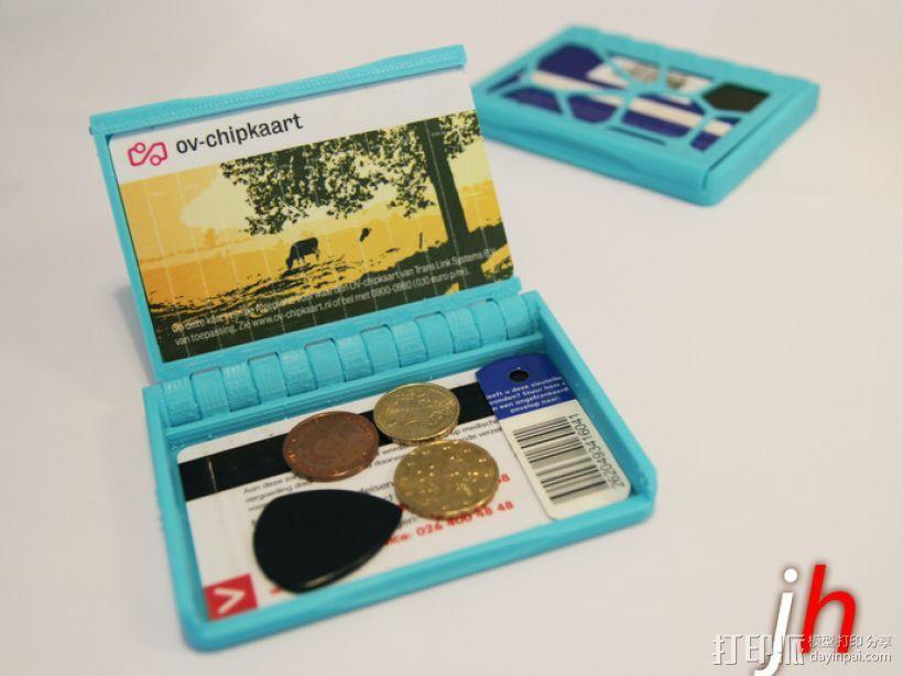 盒式磁带型钱包 3D模型  图1