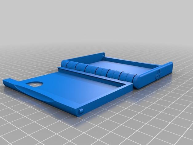 盒式磁带型钱包 3D模型  图2