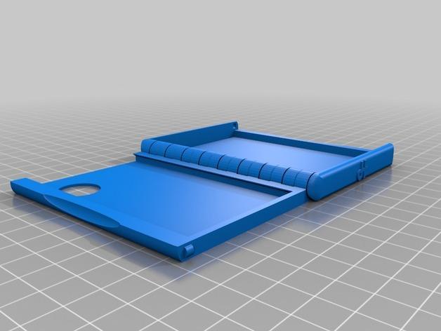 盒式磁带型钱包 3D模型  图3