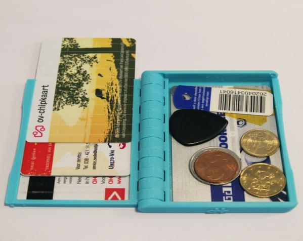 盒式磁带型钱包 3D模型  图4
