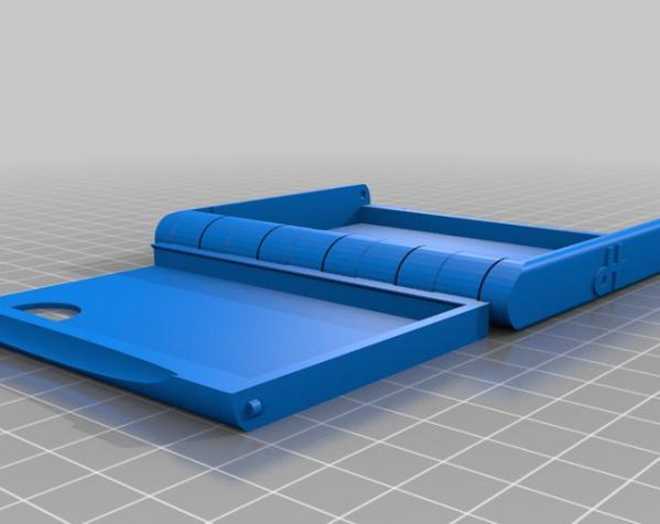 盒式磁带型钱包 3D模型  图7