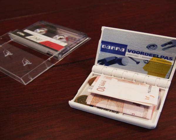 盒式磁带型钱包 3D模型  图10