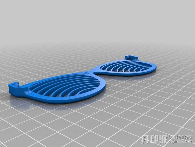 太阳镜/墨镜 3D模型  图2