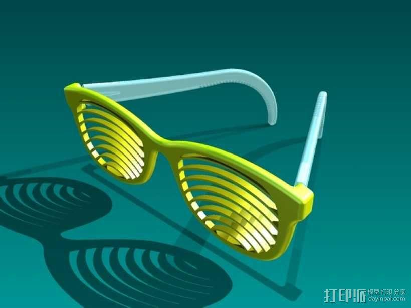 太阳镜/墨镜 3D模型  图1