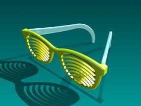 太阳镜/墨镜 3D模型