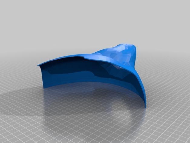 电影《沉睡魔咒》玛琳菲森的角 3D模型  图2