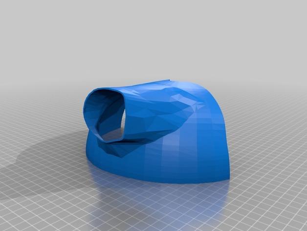 电影《沉睡魔咒》玛琳菲森的角 3D模型  图3