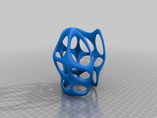 镂空手镯 3D模型  图2