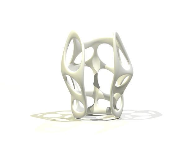 镂空手镯 3D模型  图3