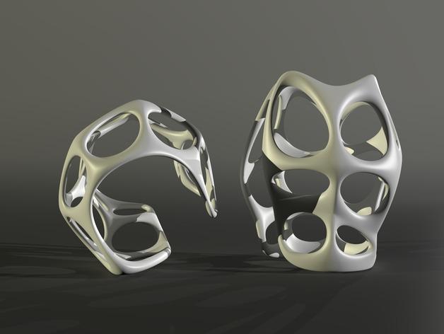 镂空手镯 3D模型  图6