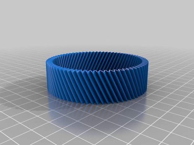 定制化RIB手环 3D模型  图2