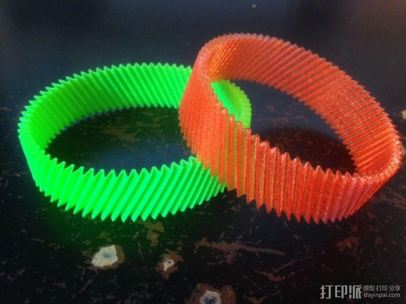 定制化RIB手环 3D模型  图1