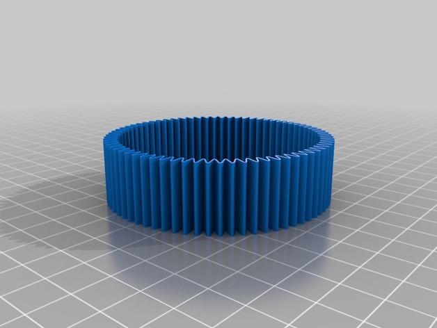 定制化RIB手环 3D模型  图3