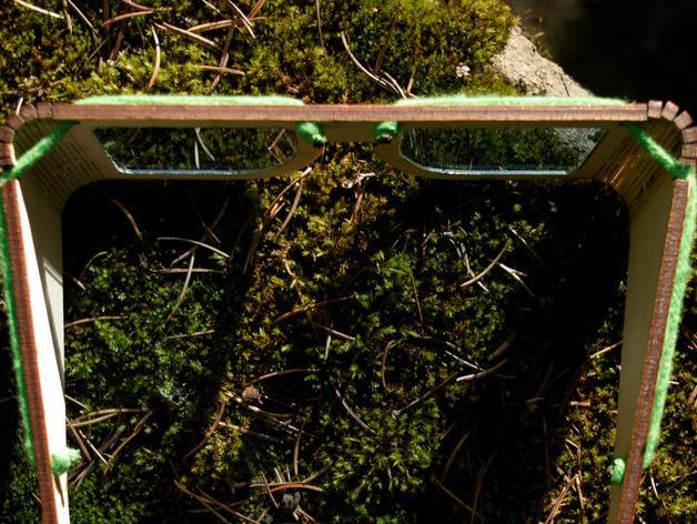 木质眼镜框 3D模型  图4
